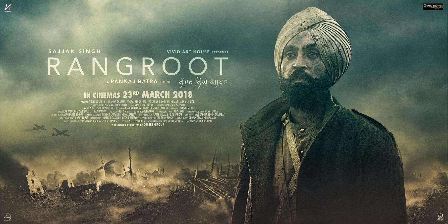 2018 - Sajjan Singh Rangroot (2018) con Diljit Dosanjh + Online 6Sheeter_20x10-Small_Rangroot_gsb-logo